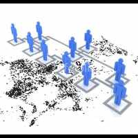 Self-Organization in a Hierarchical World