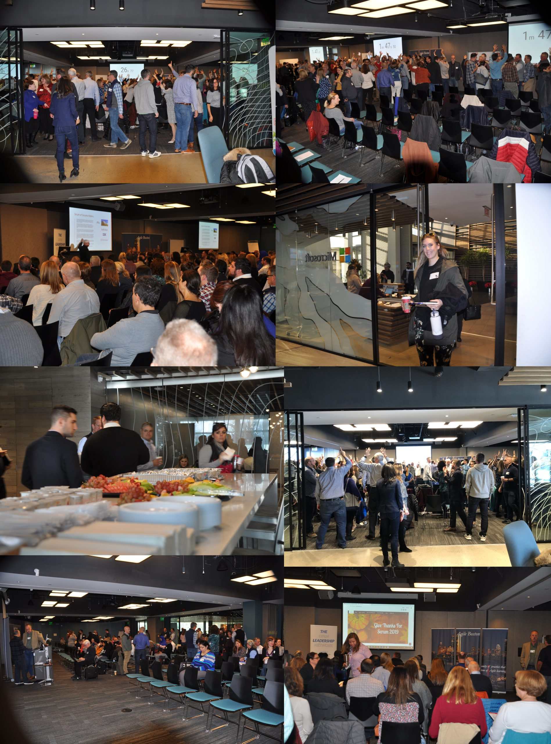 Photos from Give Thanks for Scrum events
