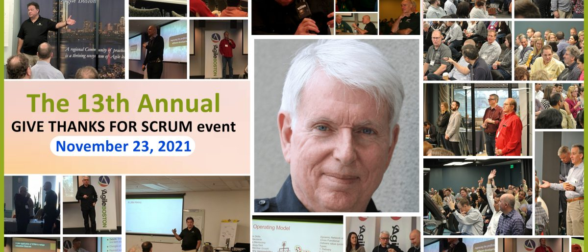 Permalink to: Give Thanks for Scrum 2021. The Theme: Value Delivery with Scrum!